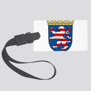 Hessen Wappen Large Luggage Tag