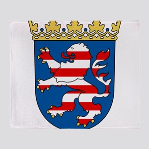 Hessen Wappen Throw Blanket