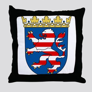 Hessen Wappen Throw Pillow