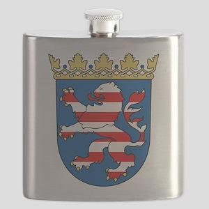 Hessen Wappen Flask