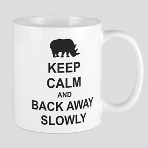 Keep Calm and Back Away Slowly Mug