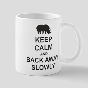 Keep Calm and Back Away Slowly Mug