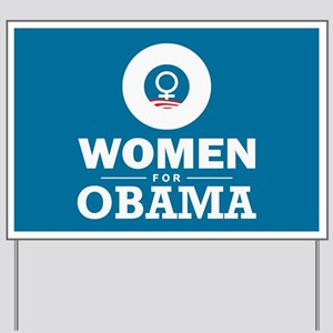 Women for Obama Yard Sign