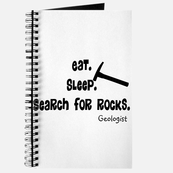 Geologist Eat Sleep Rocks.PNG Journal