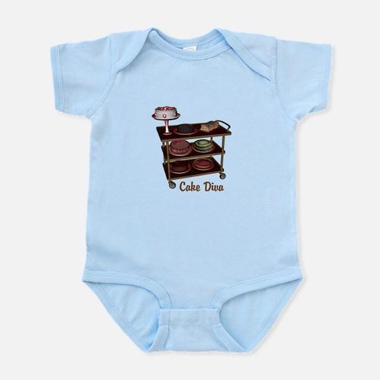 Cake Diva Infant Bodysuit