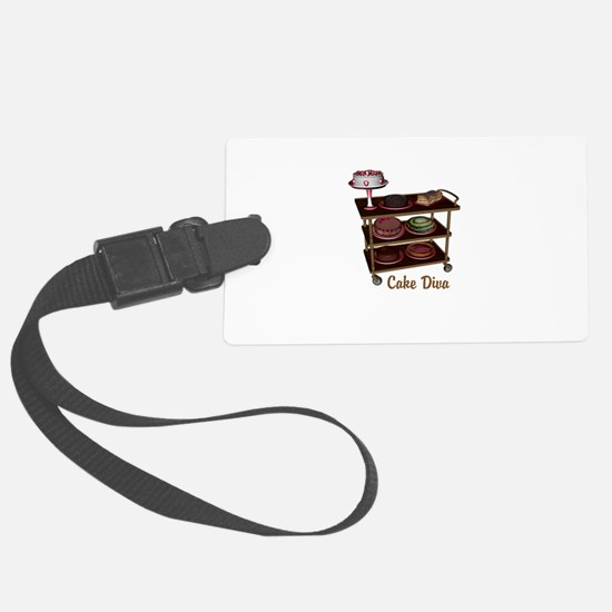 Cake Diva Luggage Tag