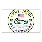 Part Irish: All American Sticker (Rectangle 50 pk)