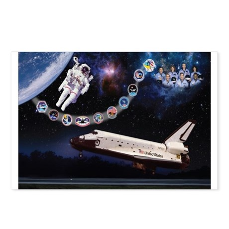 OV-099 Challenger Postcards (Package of 8)