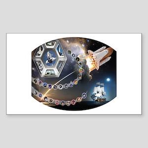OV 105 Endeavour Sticker (Rectangle)