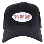 Open the Door Black Cap
