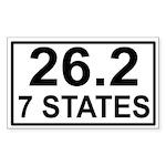 262in7 Sticker (Rectangle 50 pk)