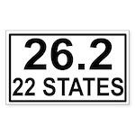 262in22 Sticker (Rectangle 50 pk)