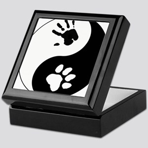 Big Cat Therian Ying Yang Keepsake Box