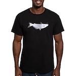 Blue Catfish fish Men's Fitted T-Shirt (dark)
