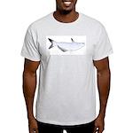 Blue Catfish fish Light T-Shirt