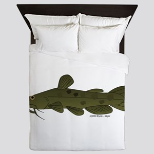 Flathead Catfish Queen Duvet