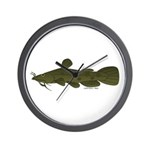 Flathead Catfish Wall Clock