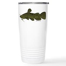 Flathead Catfish Stainless Steel Travel Mug