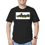 Flathead Catfish Men's Fitted T-Shirt (dark)