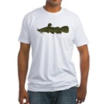 Flathead Catfish Fitted T-Shirt