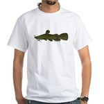 Flathead Catfish White T-Shirt
