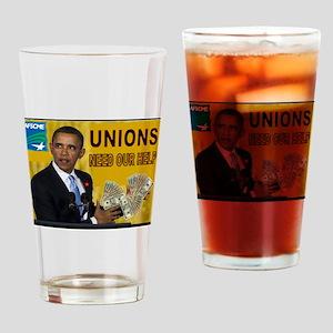 UNION SERVANT Drinking Glass