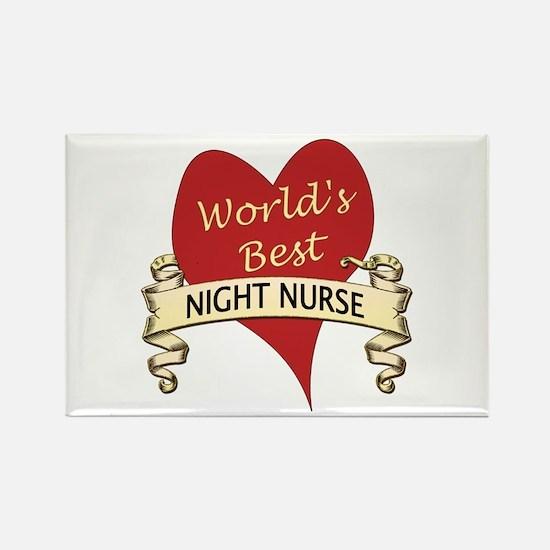 Unique Night nurse Rectangle Magnet