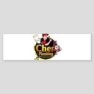Cher Plumbing Sticker (Bumper 10 pk)
