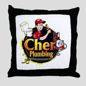 Cher Plumbing Throw Pillow
