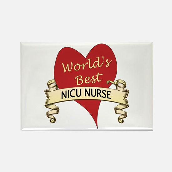 Cute Nicu rn Rectangle Magnet