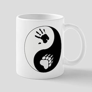 Bear Therian Ying Yang Mug