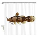 Madtom Catfish Shower Curtain