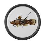 Madtom Catfish Large Wall Clock