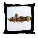 Madtom Catfish Throw Pillow