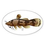 Madtom Catfish Sticker (Oval 10 pk)