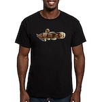 Madtom Catfish Men's Fitted T-Shirt (dark)