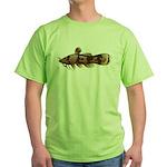 Madtom Catfish Green T-Shirt