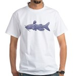 Channel Catfish White T-Shirt