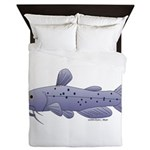 Channel Catfish Queen Duvet