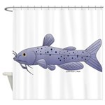 Channel Catfish Shower Curtain