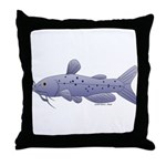 Channel Catfish Throw Pillow