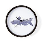 Channel Catfish Wall Clock