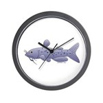 Channel Catfish Wall Clock