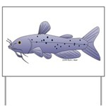 Channel Catfish Yard Sign