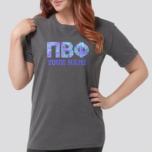 Pi Beta Phi Floral Womens Comfort Colors Shirt