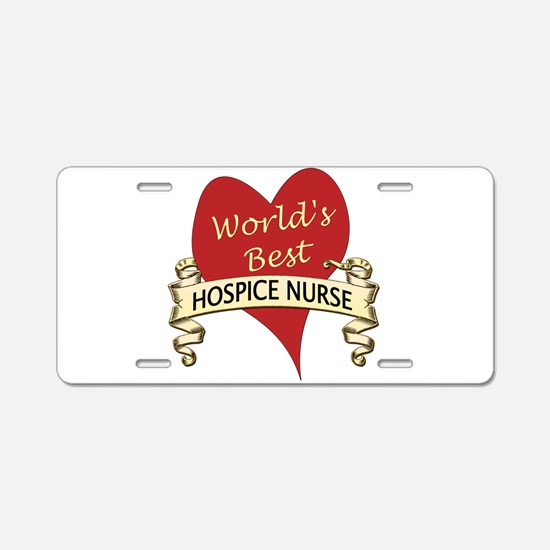 Unique Hospice Aluminum License Plate
