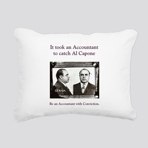 Al Capone Rectangular Canvas Pillow