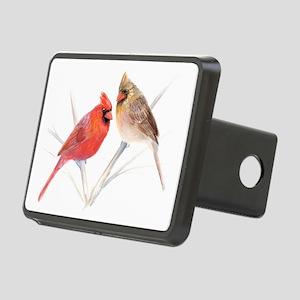 Northern Cardinal Mates Rectangular Hitch Cover