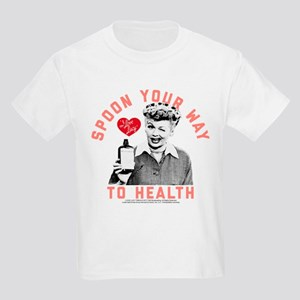 Lucy Spoon To Health Kids Light T-Shirt