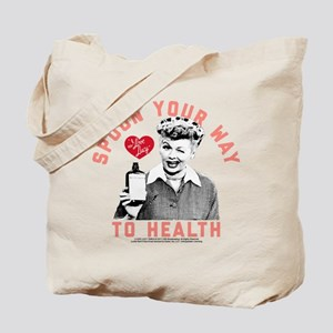 Lucy Spoon To Health Tote Bag